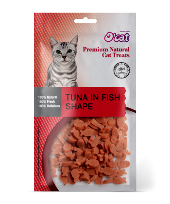 Tuna In Fish Shape 50g
