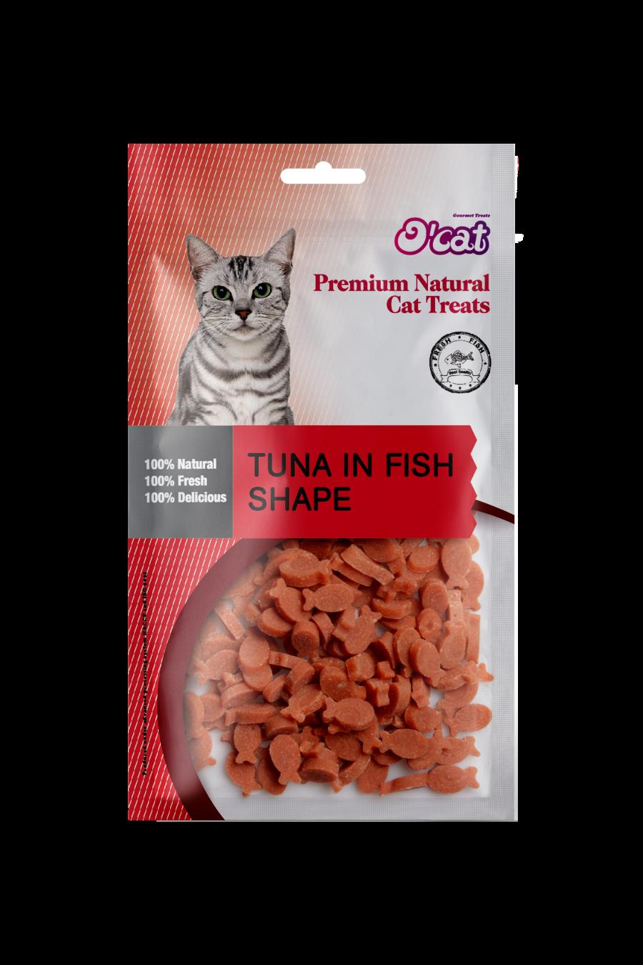 Tuna In Fish Shape 50g