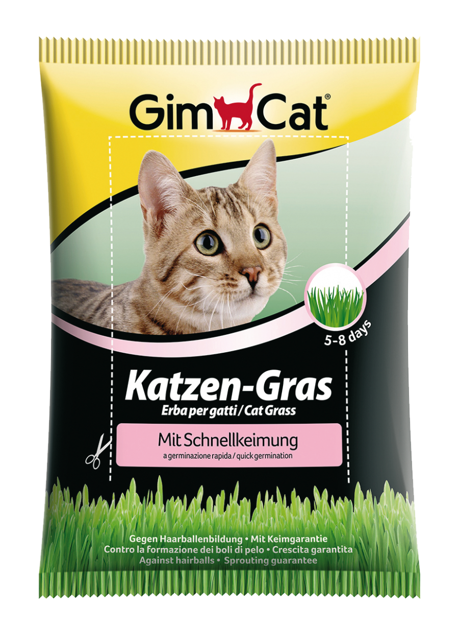 GimCat Grass in quick sprout bag 100g