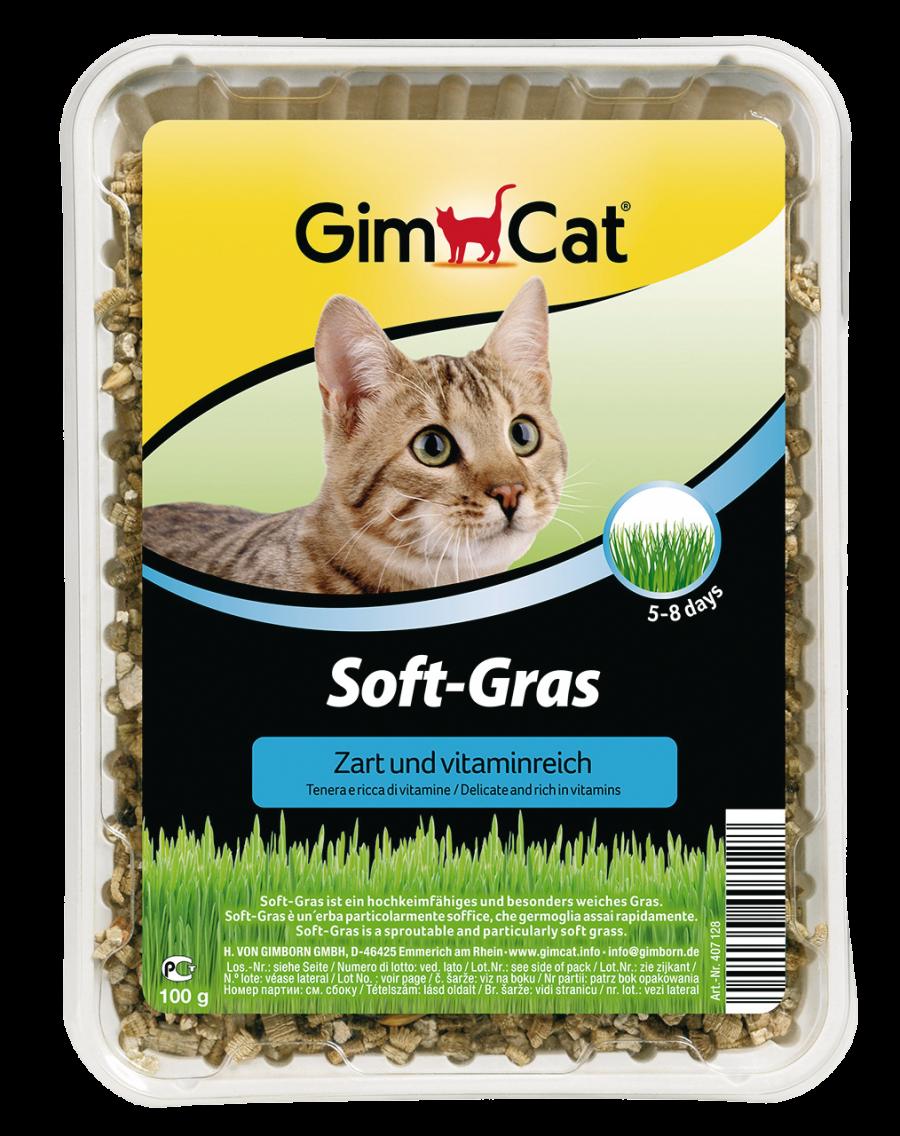 Gimcat Soft Gras 100g