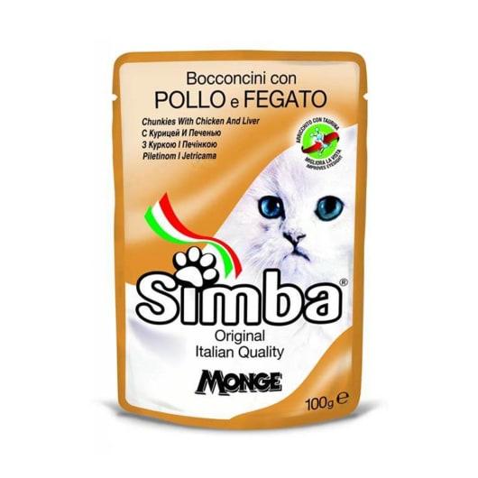 simba wet 100g chicken