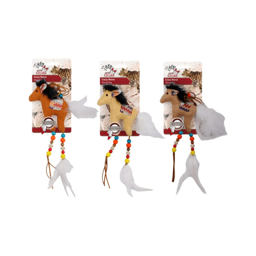 ANIMAL HOUSE HOSPITAL - PRODUCTS AFP DREAM CATCHER CRAZY HORSE SAND BEIGE BROWN