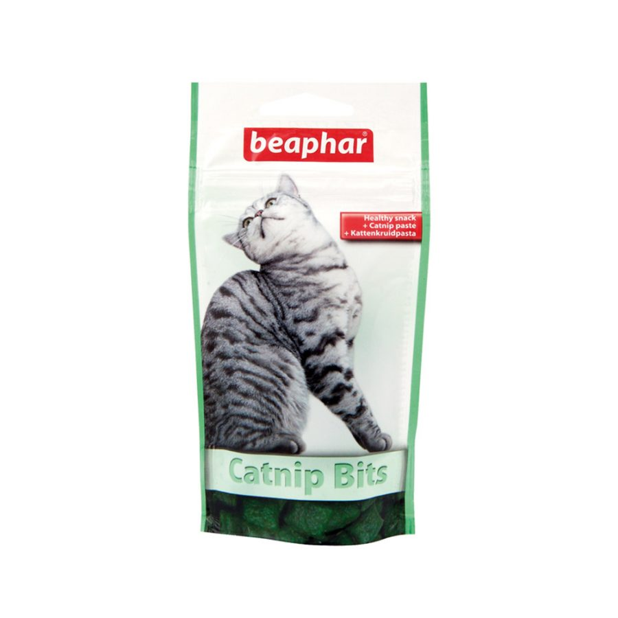 ANIMAL HOUSE HOSPITAL - PRODUCTS BEAPHAR CATNIP BITS 35G