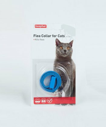 ANIMAL HOUSE HOSPITAL - PRODUCTS BEAPHAR FLEA CAT COLLAR BLUE