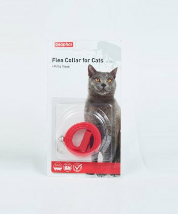 ANIMAL HOUSE HOSPITAL - PRODUCTS BEAPHAR FLEA CAT COLLAR RED