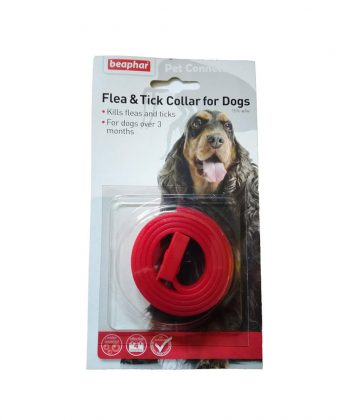 ANIMAL HOUSE HOSPITAL - PRODUCTS BEAPHAR FLEA DOGS COLLAR RED
