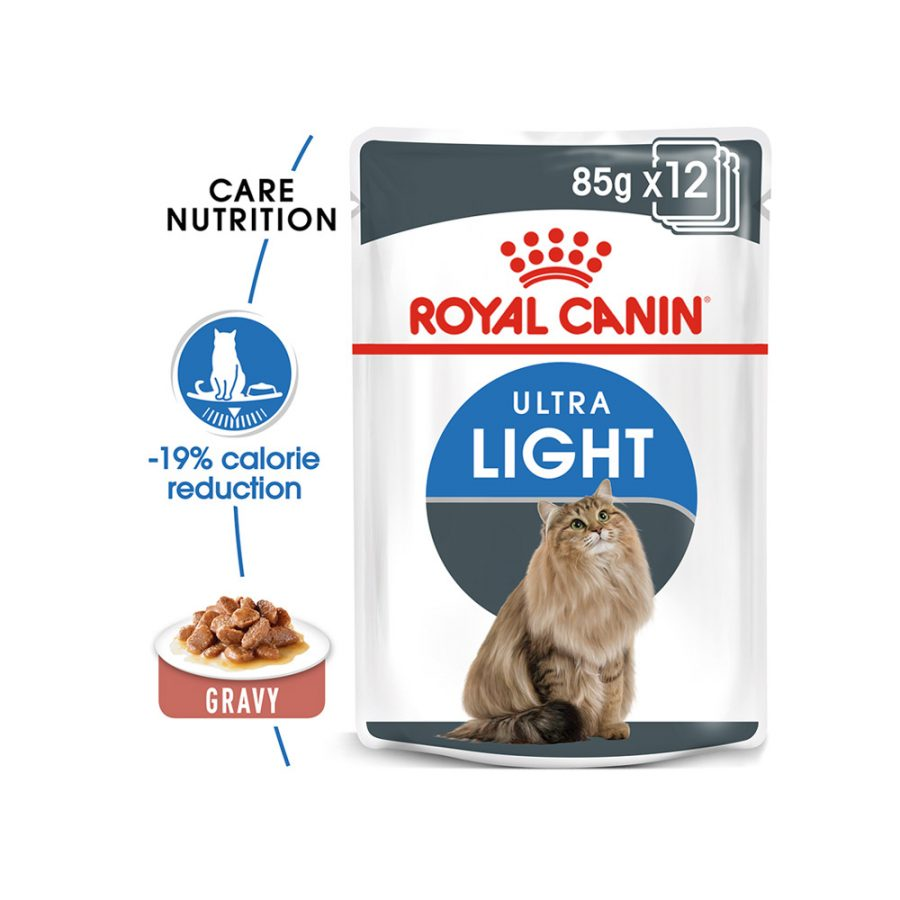 ANIMAL HOUSE HOSPITAL - PRODUCTS CATS ROYAL CANIN ULTRA LIGHT 12X85G GALLERY