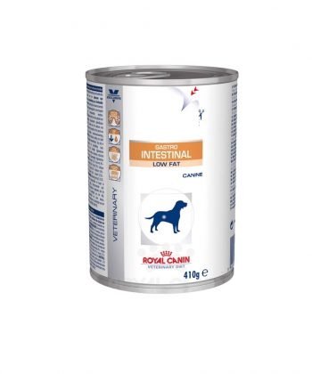 ANIMAL HOUSE HOSPITAL PRODUCTS DOGS ROYAL CANIN GASTRO INTESTINAL LOW FAT 410G.