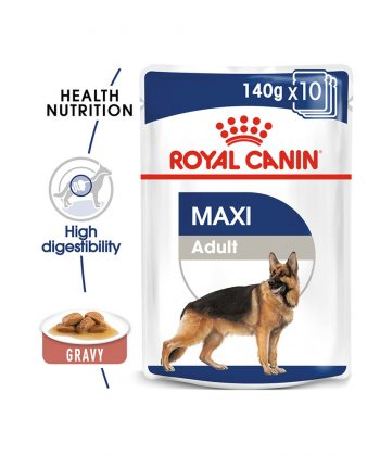 ANIMAL HOUSE HOSPITAL - PRODUCTS DOGS ROYAL CANIN MAXI ADULT 10X140G GALLERY