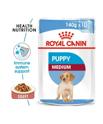 ANIMAL HOUSE HOSPITAL - PRODUCTS DOGS ROYAL CANIN MEDIUM PUPPY 10X140G GALLERY