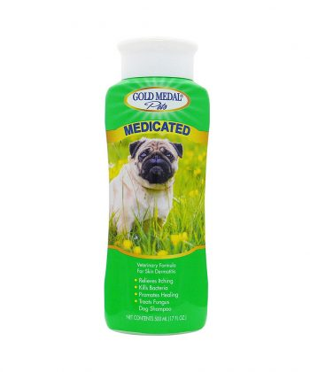 ANIMAL HOUSE HOSPITAL - PRODUCTS GOLD MEDAL MEDICATED SHAMPOO