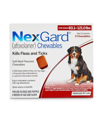 ANIMAL HOUSE HOSPITAL - PRODUCTS NEXGARD DOGS 25 50KG PER TABLET