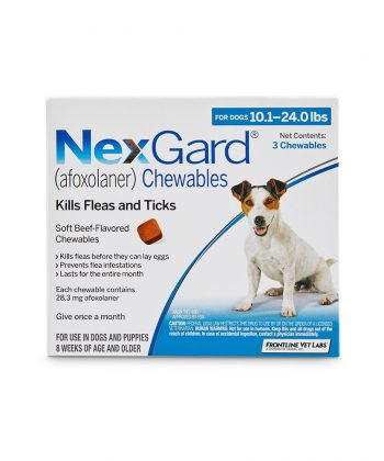 ANIMAL HOUSE HOSPITAL PRODUCTS NEXGARD DOGS 4 10KG PER TABLET