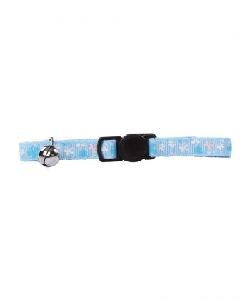 ANIMAL HOUSE HOSPITAL - PRODUCTS PAWISE CAT COLLAR BLUE BUTTERFLY