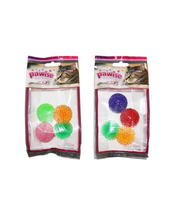 ANIMAL HOUSE HOSPITAL - PRODUCTS PAWISE CAT TOY GLITTER BALL