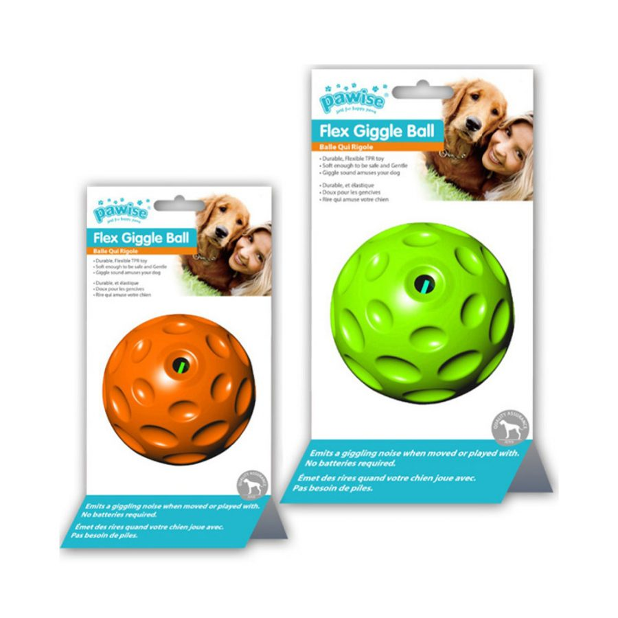 ANIMAL HOUSE HOSPITAL - PRODUCTS PAWISE FLEX CHIME BALL