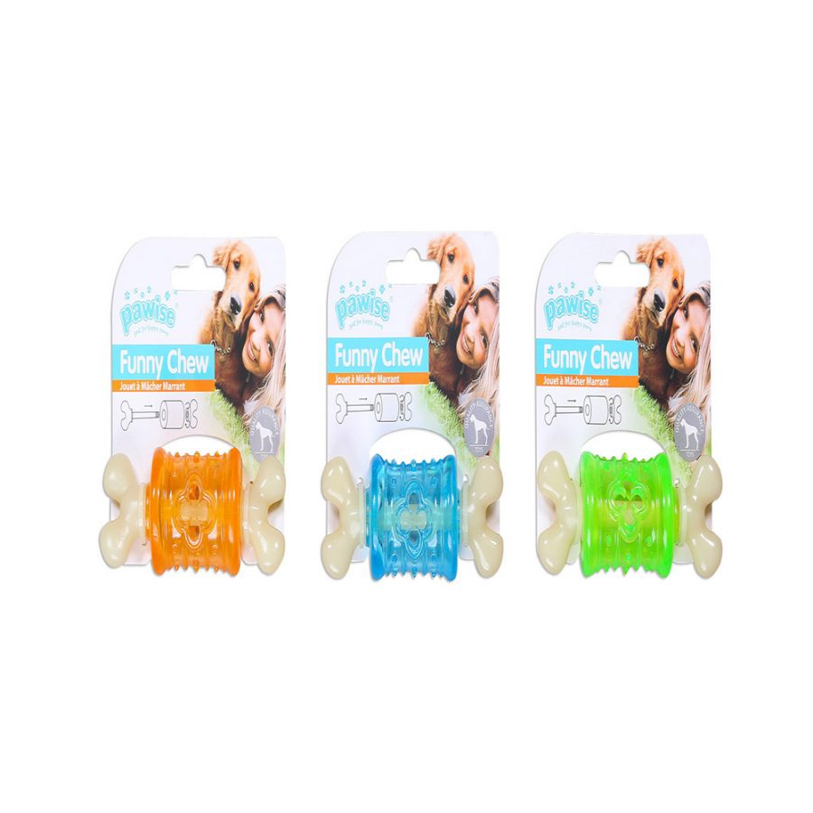 ANIMAL HOUSE HOSPITAL - PRODUCTS PAWISE FUNNY CHEW BONE S