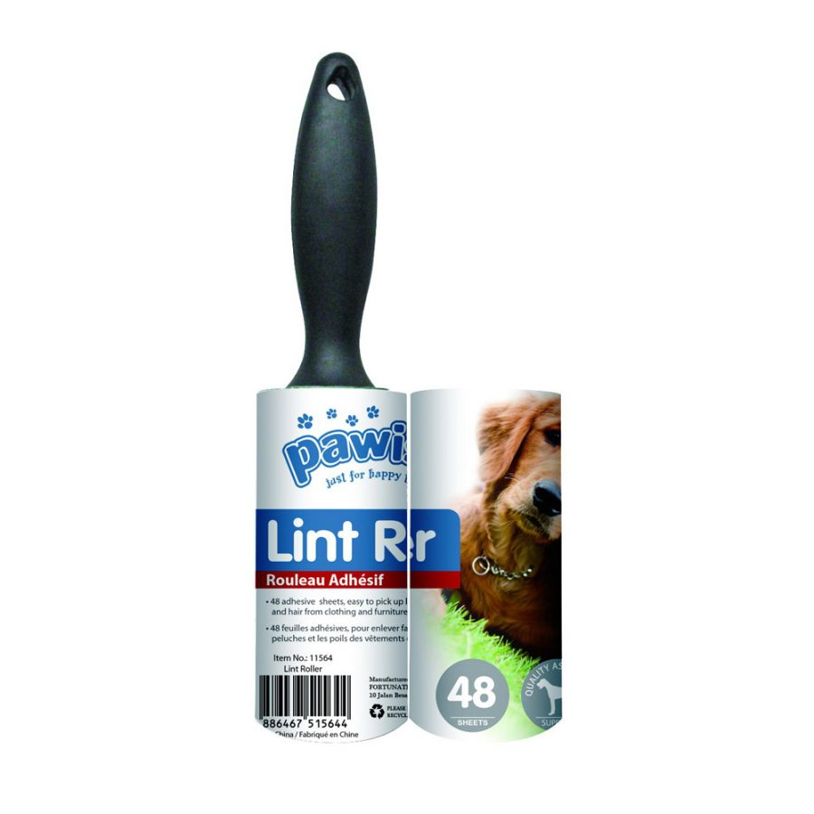 ANIMAL HOUSE HOSPITAL - PRODUCTS PAWISE LINT ROLLER 48 SHEETS WREPLACEMENT