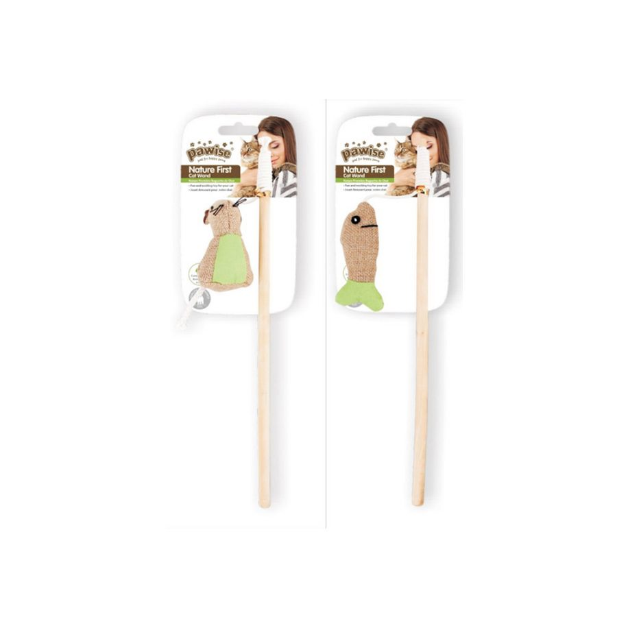 ANIMAL HOUSE HOSPITAL - PRODUCTS PAWISE NATURE FIRST WAND MOUSE