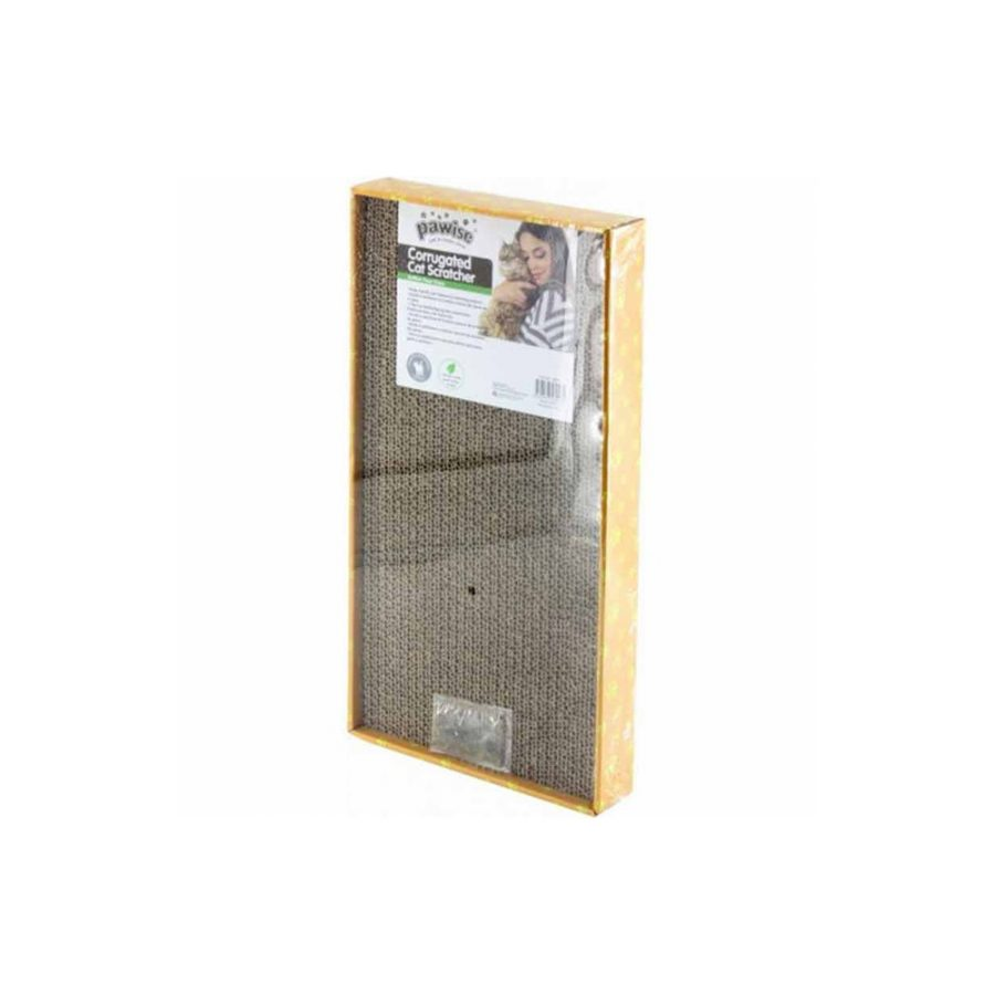 ANIMAL HOUSE HOSPITAL - PRODUCTS PAWISE SCRATCHER W CATNIP WIDE