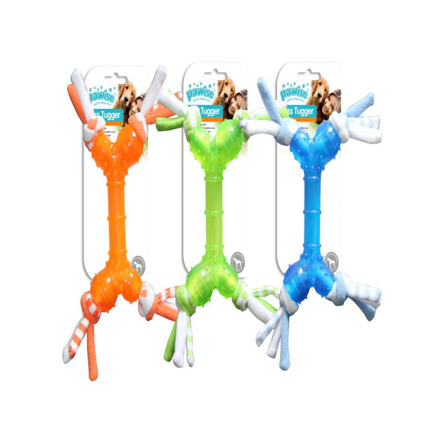 ANIMAL HOUSE HOSPITAL - PRODUCTS PAWISE TOSS TUGGER 28CM