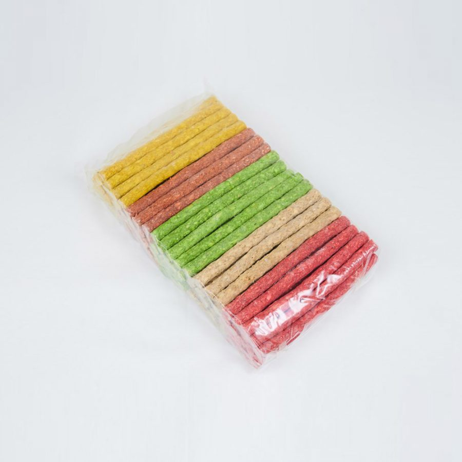 ANIMAL HOUSE HOSPITAL - PRODUCTS PET LOVE COLORED CHEWS STICKS