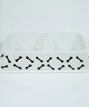 ANIMAL HOUSE HOSPITAL - PRODUCTS PET LOVE DOUBLE BOWL