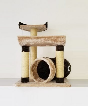 ANIMAL HOUSE HOSPITAL - PRODUCTS PET LOVE SCRATCHER TUNNEL