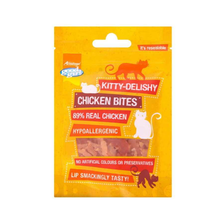 ANIMAL HOUSE HOSPITAL - PRODUCTS PRODUCTS GOODBOY KITTY DELISHY CHICKEN BITES 30G