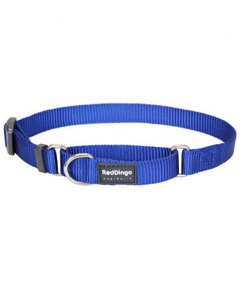 ANIMAL HOUSE HOSPITAL - PRODUCTS RED DINGO DOG COLLAR HC CLASSIC DARK BLUE