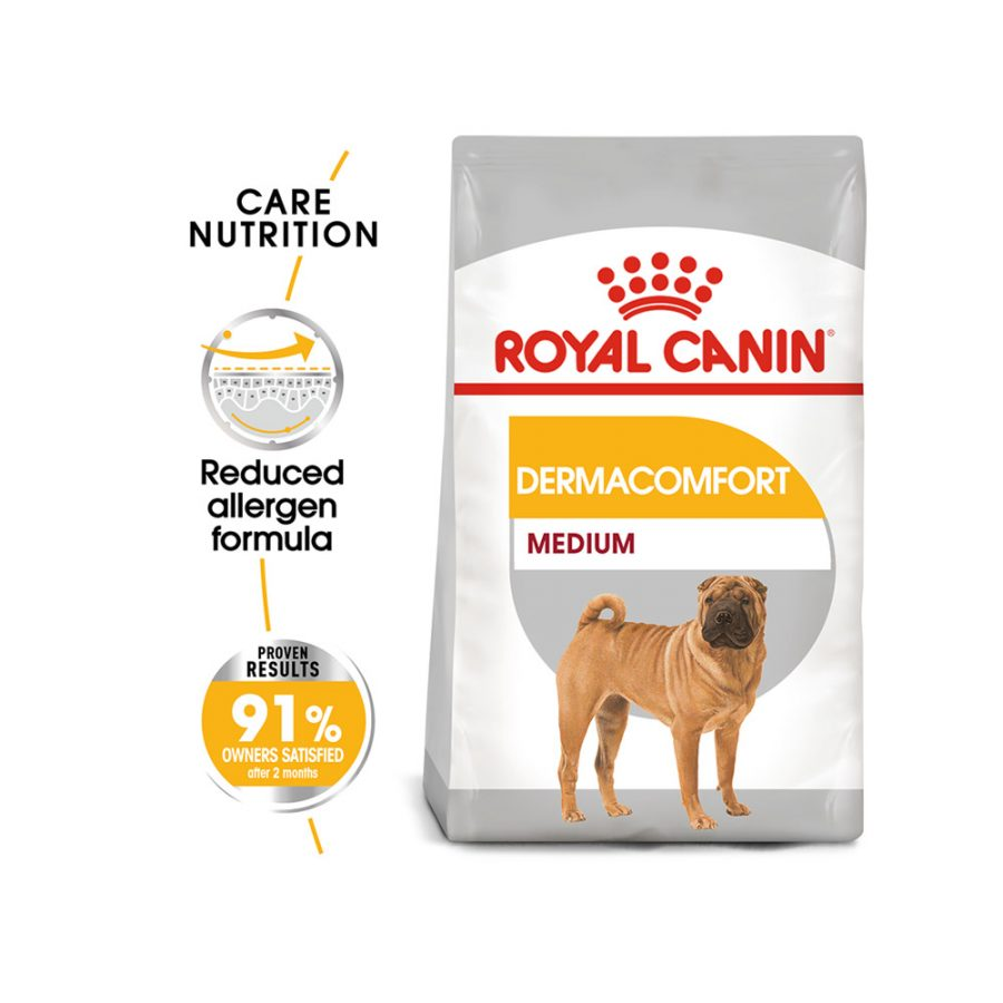 ANIMAL HOUSE HOSPITAL - PRODUCTS ROYAL CANIN DERMACOMFORT MEDIUM 3KG GALLERY