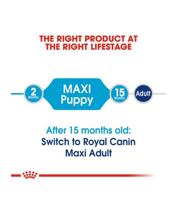 ANIMAL HOUSE HOSPITAL - PRODUCTS ROYAL CANIN MAXI PUPPY 4KG 15KG GALLERY