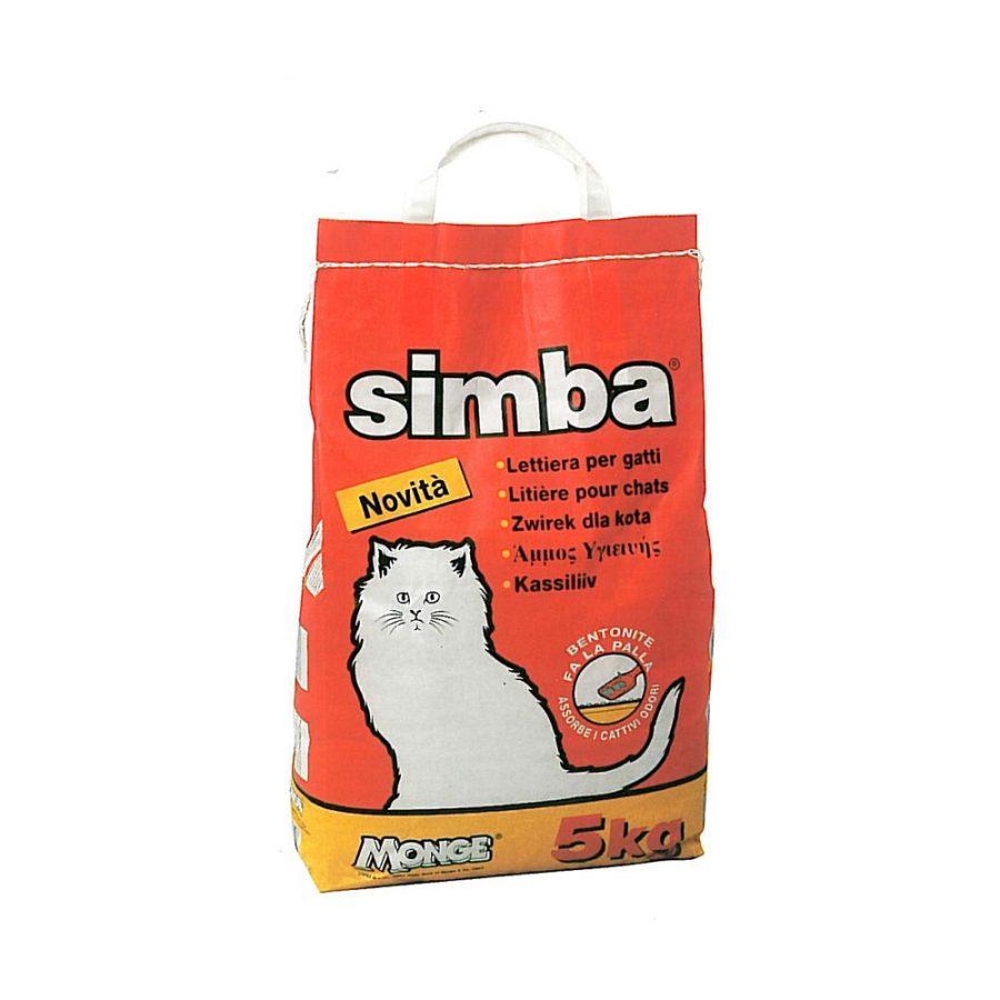 ANIMAL HOUSE HOSPITAL - PRODUCTS SIMBA CAT SAND 5KG