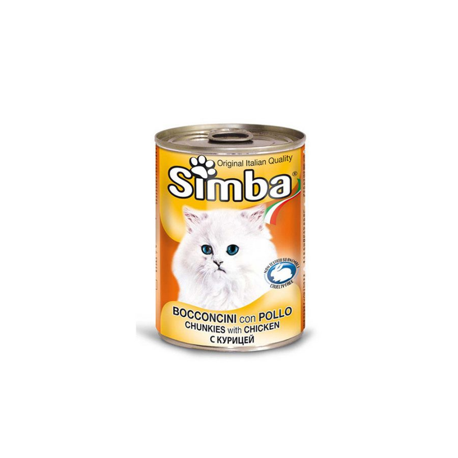 ANIMAL HOUSE HOSPITAL - PRODUCTS SIMBA CHUNKIES WITH CHICKEN 415G