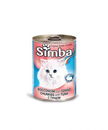 ANIMAL HOUSE HOSPITAL - PRODUCTS SIMBA CHUNKIES WITH TUNA 415G
