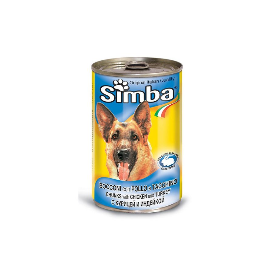ANIMAL HOUSE HOSPITAL - PRODUCTS SIMBA CHUNKS WITH CHICKEN TURKEY 415G 1230G