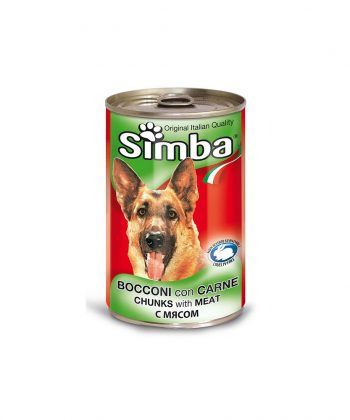 ANIMAL HOUSE HOSPITAL - PRODUCTS SIMBA CHUNKS WITH MEAT 415G 1230G