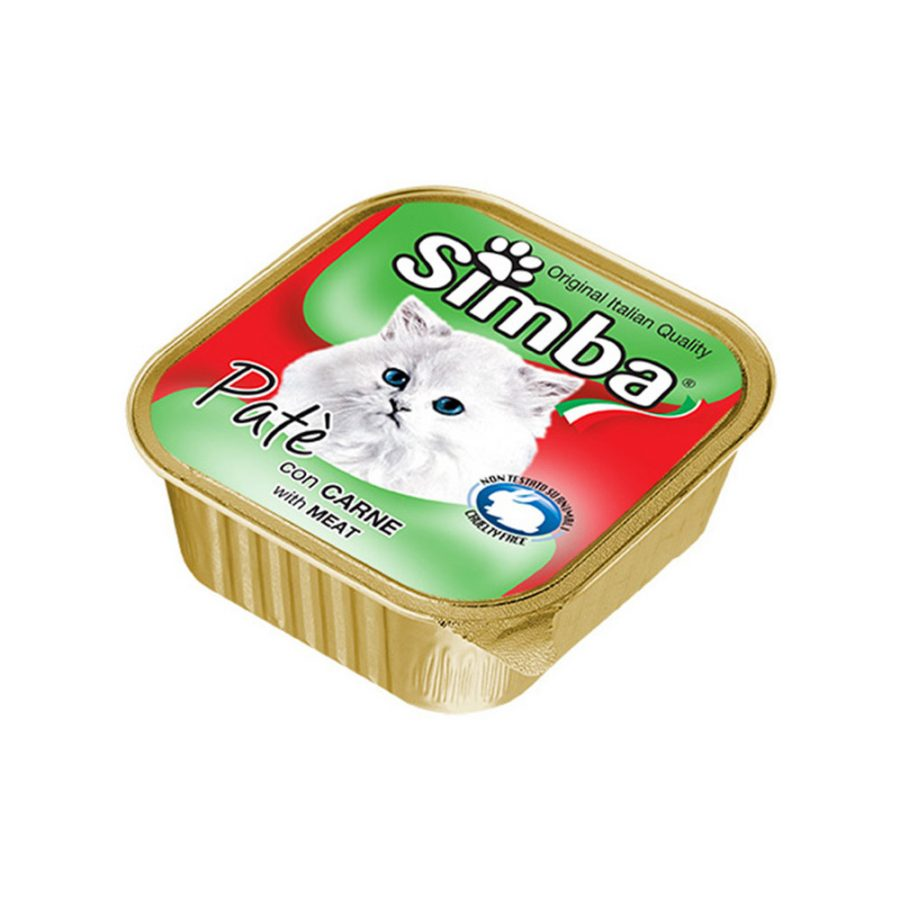 ANIMAL HOUSE HOSPITAL - PRODUCTS SIMBA PATÉ WITH BEEF 100G