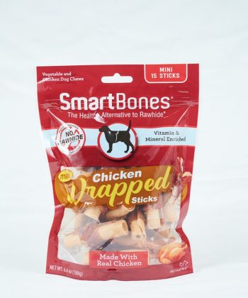 ANIMAL HOUSE HOSPITAL - PRODUCTS SMART BONES CHICKEN WRAPPED STICKS