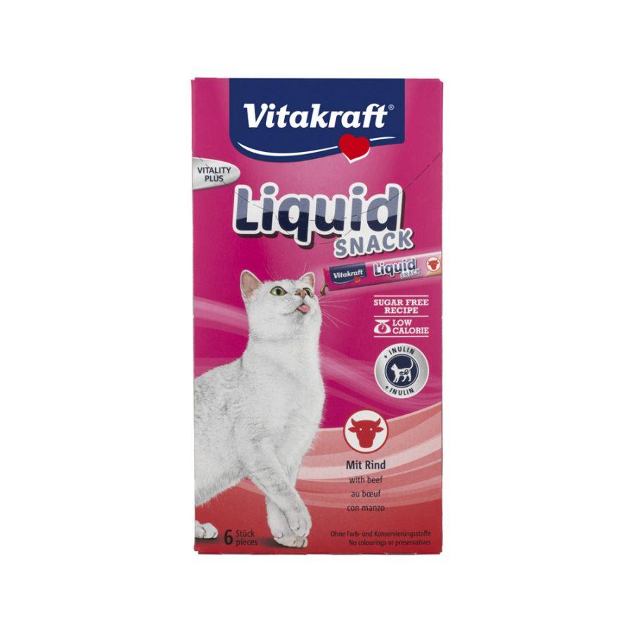 ANIMAL HOUSE HOSPITAL - PRODUCTS VITAKRAFT CAT LIQUID SNACK BEEF INSULIN