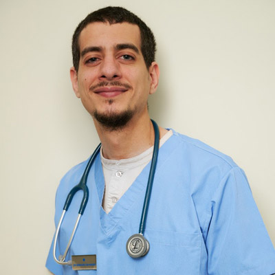 ANIMAL HOUSE HOSPITAL - TEAM MEMBERS - DR BERNARD ABI NADER