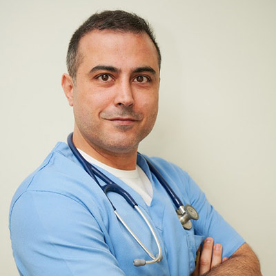 ANIMAL HOUSE HOSPITAL - TEAM MEMBERS - DR ELIAS NICOLAS